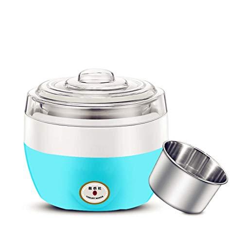 Yaourtière électrique multifonction machine liner en acier inoxydable mini machine automatique de yaourt ustensiles de cuisine de yaourt