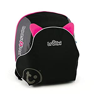 Trunki BoostApak - Travel Backpack & Child Car Booster Seat for Group 2-3 (Pink)   2