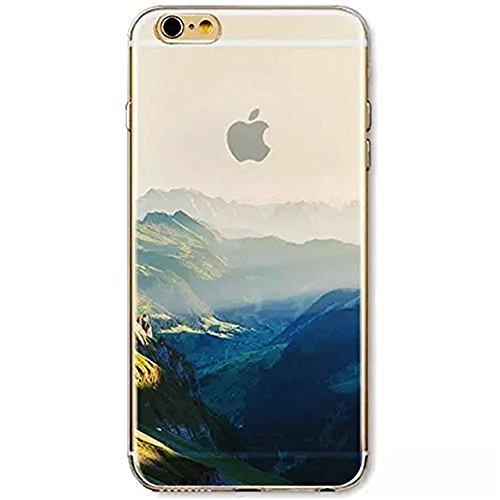 iPhone 8 Hülle,Vandot 0.5MM 3D HD Exklusive TPU Silikon Hülle für iPhone 8 4.7 Zoll Muster Pattern Protektiv Case Skin Back Cover Tasche Anti Finger Kratzfeste Premium Schutzhülle Handytasche Handy Ta Muster 22