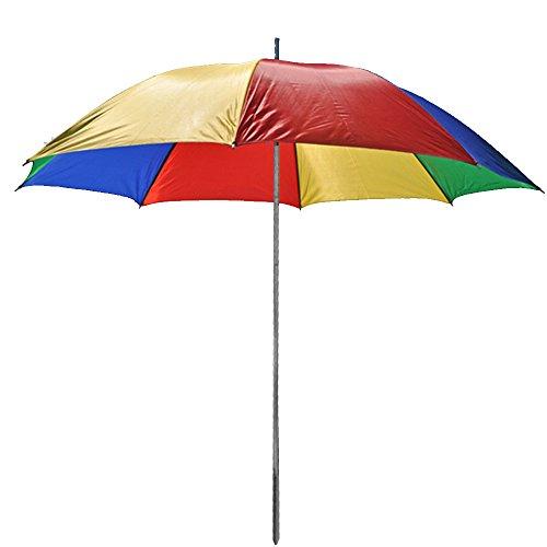 Sonnenschirm 130cm von JEMIDI Durchmesser Strand Schirm Strandschirm Sonnenschirm Sonnenschutz tragbar