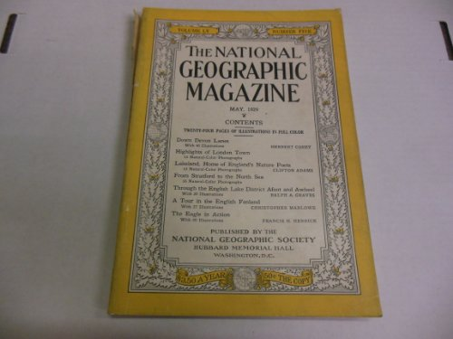 National Geographic Magazin (National Geographic Magazine - April 1929 - Volume LV - Number Four)