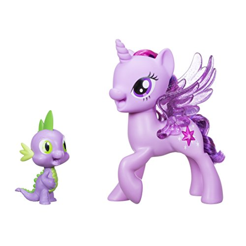 My Little Pony – C0718 – Prinzessin Twilight Sparkle & Spike, der Drache – Singendes Duo (Englische Sprachversion)