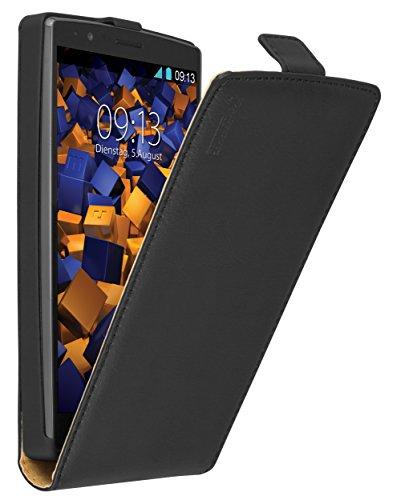 mumbi PREMIUM Leder Flip Case für LG G4 Tasche