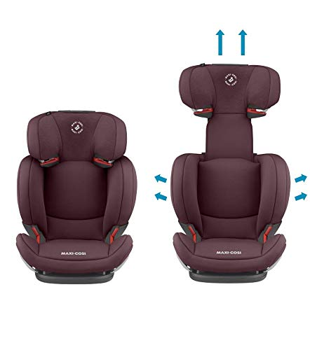 Maxi-Cosi RodiFix AirProtect Child Car Seat, Isofix Booster Seat, Red, 15-36 kg Maxi-Cosi Booster car seat for children from 15-36 kg (3.5 to 12 years) Grows along with your child thanks to the easy headrest and backrest adjustment from the top Patented air protect technology for extra protection of child's head 3