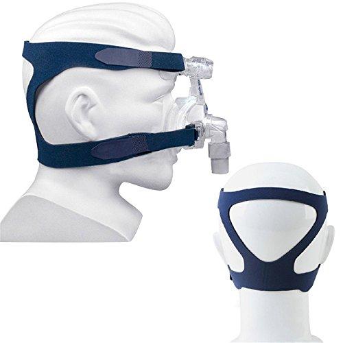 Cpap-maske Kopfbedeckung (carejoy Universal Kopfbedeckung Gel Komfort Full Maske Ersatzteil CPAP-Head Band für Respironics resmart ohne Maske/Mascarilla Para CPAP -)