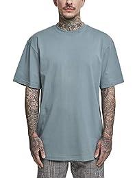 Urban Classics Herren Tall Tee T-Shirt, dusty blue, 6XL