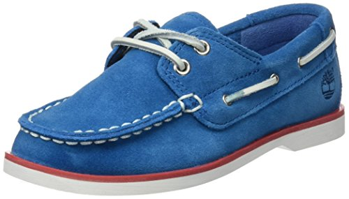 Timberland Unisex Baby Seabury Classic 2Eye Boatmykonos Lauflernschuhe, Blau (Mykonos Blue Hammer II), 27 EU