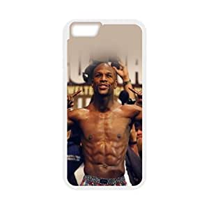 Coque iPhone 6 4.7 pouces de mobile Coque Blanc Hf Floyd Mayweather Boxer Sport PR2T6ORY Téléphone Coque magasin