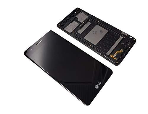 LG K8 2017 M350N Display LCD Touchscreen Frame Original Black Lg Touch-screen Lcd