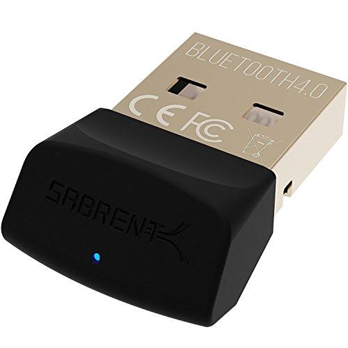 Sabrent USB Bluetooth 4.0 Micro Adapter für PC [v4.0 Klasse 2, mit Niedrig Energie Technologie] (BT-UB40)