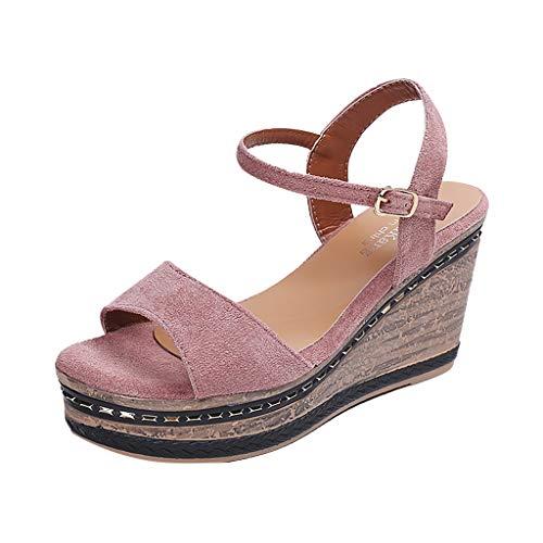 r Keilabsatz Espadrilles Damen Schwarz Keilabsatz Desert Boots Damen Schuhe Plateau Lack 38 EU Rosa Plateau Schuhe Damen Flach Weiße Sneaker Schuhe Damen ()