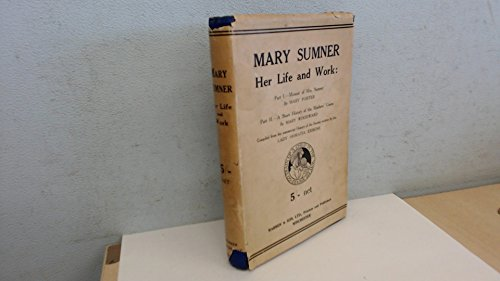 Mary Sumner Her Life and Work