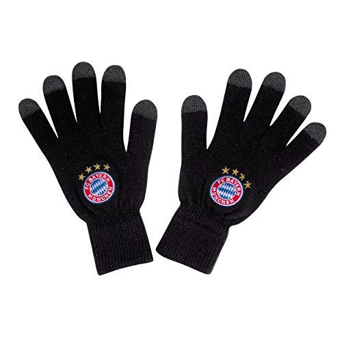 trickhandschuh Snow schwarz + gratis Sticker, FCB, Handschuhe, Gloves, guantes, gants (S) ()
