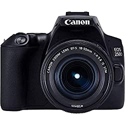 Canon EOS 250D Reflex numérique + EF-S 18-55mm f/4-5, 6 is STM - Noir