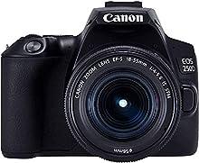 Canon EOS 250D + EF-S 18-55mm f/4-5.6 IS STM Kit fotocamere SLR 24,1 MP CMOS 6000 x 4000 Pixel Nero
