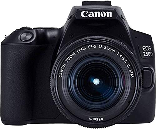 Canon EOS 250D e EF S 18 55 f/4 5.6 IS STM Kit fotocamere SLR 241 MP CMOS 6000 x 4000 Pixel Nero
