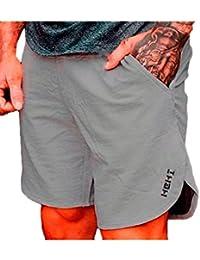Dazosue Mens Camo Pantalones Cortos Pantalones Casual Athletic Bodybuilding 86iTW