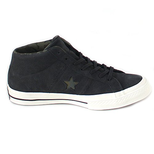 Converse Mens Shoes / Sneakers One Star Mid Black
