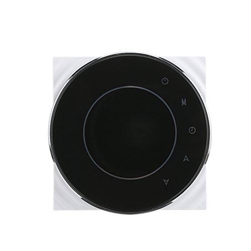 Thermostat 3A 95~240V Wasser/Gas Kessel Heizraum Thermostat Energie sparen mit Touchscreen LCD Display wöchentlich programmierbare Temperaturregler Home Improvement Produkt -