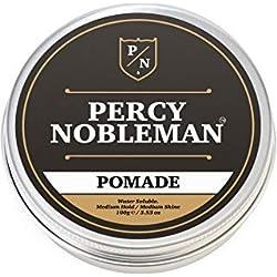 Pomada de 100 ml de Percy Nobleman con peine de acetato de carey