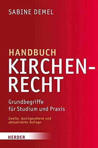Image of Handbuch Kirchenrecht: Grundbegriffe für Studium und Praxis