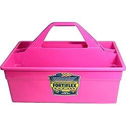 "FORTEXINDUSTRIES 380624 Tote Max Hot Pink, 17X11X11"""