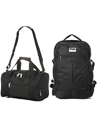 Ryanair 55x40x20 cm MAX Cabina Mochila y 35x20x20cm Segundo bolso de mano del equipaje - Tome tanto de manera gratuita!
