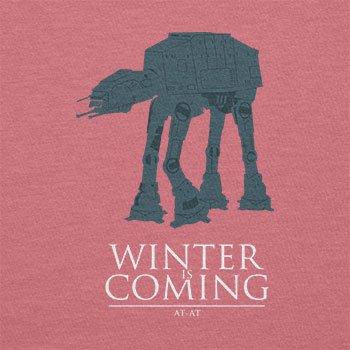 Texlab–At At Winter Is Coming–sacchetto di stoffa Pink