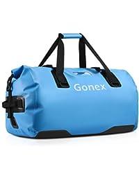 Gonex 40/45/60/80L wasserdichte Reisetasche Sporttasche Seesack Packsack Duffle Bag Rucksack Tasche für Herren Damen Boot Angeln Camping Wandern Outdoor Abenteuer