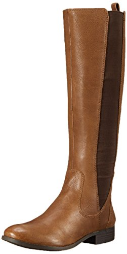Jessica Simpson Women's Radforde Riding Boot, Bourbon Comb, 5 M US