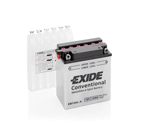 EXIDE Motorrad Batterie 12V 12Ah 120A YB12AL-A