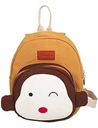 Preisvergleich für ZEZKT-Kinderrucksack | Monkey Mini Backpack Kindergartentasche | Daypacks Backpack für Kinder Mädchen Jungen Jugendliche...