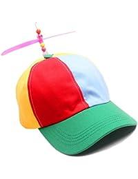 Cappello da Baseball Donna Cappellino Uomo Estivo Arcobaleno Berretti Hip  Hop Con Elica Cap da Sola 845a22b17afd