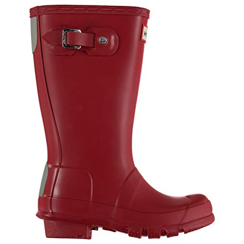 Hunter Original Little Kids Wellington Boots Infants Boys Red Wellies Gum Boot