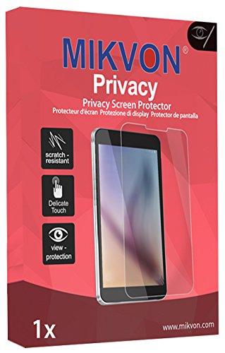 Mikvon Privacy Blickschutzfolie blau für HTC Rome - PREMIUM QUALITÄT (Optische Firewall, Robust, klare Sicht von vorn)