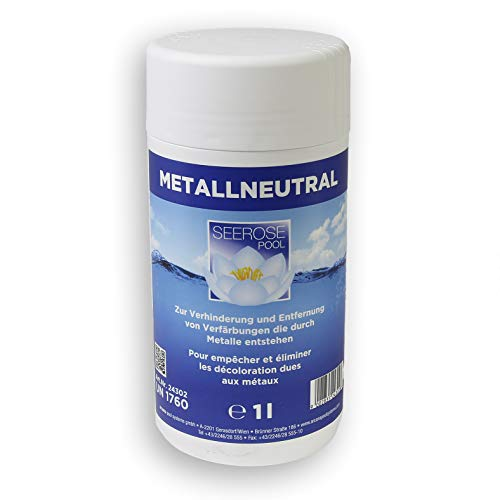 Seerose Neutralisiert gelöste Metalle