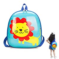Cartoon Backpacks Children, Vivid Animal Rucksacks Bright Coloured Hard Shell Bags Preschool Satchel Eggshell Simple Bag