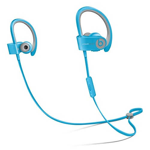 Beats by Dr. Dre MKPQ2ZM/A Powerbeats 2 Wireless Sport-Kopfhörer blau
