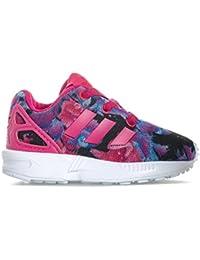 Adidas Originals ZX Flux EL Zapatillas para Niña Morado, ...