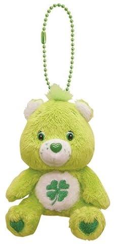 Care Bears stuffed key chains Good Luck Bear