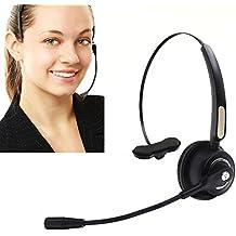 Call center Headset Wireless Bluetooth Pro bizoerade anulación auricular con micrófono para teléfono