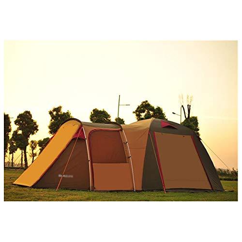 Anti-UV,SpaciousZelt, Outdoor-Selbstfahrer-Campingzelte 5-8 Personen EIN Zimmer und EIN Wohnzimmer mit Familie Luxus-Ultralarge Zelt,1,620 * 300 * 190cm (5-zimmer-zelt)