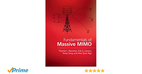 Buy Fundamentals of Massive MIMO Book Online at Low Prices