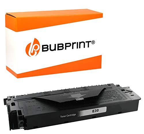 Bubprint Toner kompatibel für Canon E30 E 30 1491A003 für FC 100 120 200 204 204S 210 220 224 224S 226 230 300 310 330 336 PC 740 760 860 890 Schwarz -