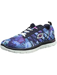 Skechers Flex Appeal Floral Bloom Damen Sneakers