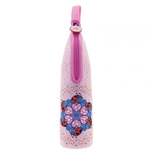 Preisvergleich Produktbild Katuki saguyaki Kinder–Thermoskanne für Flüssigkeiten 0,5l mit Neopren Tasche Pink und tapón-vaso