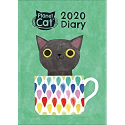 Planet Cat 2020 - Agenda (tamaño A6), diseño de gato