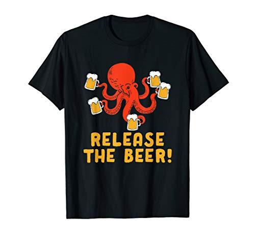 Lassen Sie das Bier Octopus Tasse Oktoberfest Wiesn - Octopus Kostüm Für Kleinkind