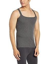 Force GoWear Mens Cotton Vest (8902889500126_MFCF-001_X-Large_Charcoal Melange)