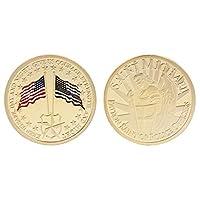 100% nuovo e di alta qualità.Introduzione:bene, è estremamente funzionale, che può essere utilizzato per la raccolta di monete commemorative, artigianato, regali, ecc.Questo tipo di moneta è con due bandiere nazionali, e l' altro lato è San M...